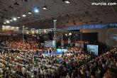 Cerca de cien afiliados y simpatizantes del PP de Totana acuden a Murcia a mostrar su confianza y su apoyo a la candidatura de Mayor Oreja