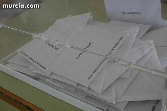 Resultado eleciones Europeas 2009 en Alhama de Murcia, Foto 1