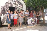 Puerto Lumbreras recibe el Autobús de Voluntariado de la Región de Murcia