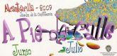 """En los meses de Junio y Julio, en Alcantarilla tenemos la programación del """"A Pie de Calle"""""""