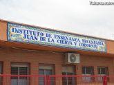 """El IES """"Juan de la Cierva"""" de Totana es uno de los dos únicos centros de la región de Murcia que imparten el Bachillearto Internacional"""