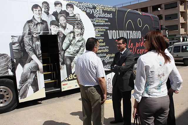 El Autobús del voluntariado llega a Torre Pacheco. - 1, Foto 1