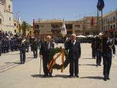 Más de 200 civiles juran bandera en la plaza de España de San Javier