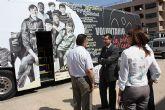 El Autobús del voluntariado llega a Torre Pacheco.