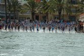 Gran éxito de participacion en el 2º Triatlon Los Alcázares