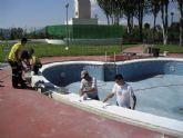 La concejalía de Juventud y Deportes pone a punto las instalaciones del polideportivo municipal