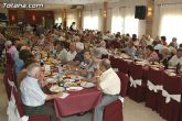 Cerca de 500 socios y usuarios de los Centros de Personas Mayores de la localidad celebran una comida de convivencia