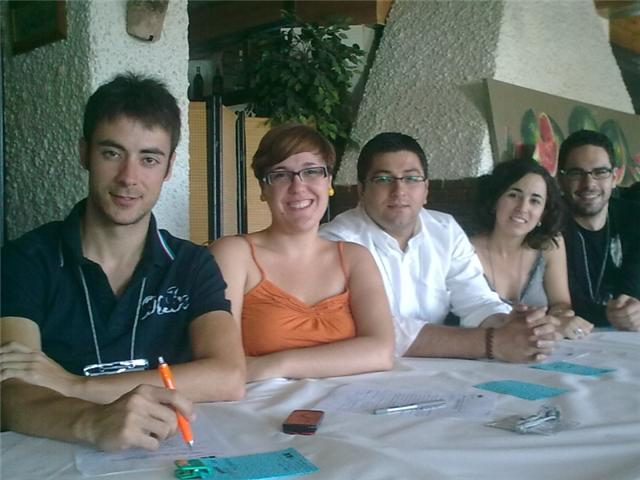 The secretary general of Socialist Youth of Totana attended the meeting of the Youth Council of the Region of Murcia