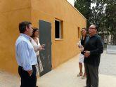 El Alcalde de Molina de Segura visita varios colegios donde se llevan a cabo obras del Fondo de Inversión Local para el Empleo