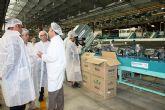 Cerdá, visitó hoy la ampliación de las instalaciones de la empresa Molinense Producciones Naturales S.L