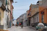 Finalizan las obras de reordenación del tráfico rodado y ampliación de aceras en la calle Ramblica