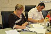El Ayuntamiento renueva el convenio de colaboración con la Federación de Asociaciones Murcianas de Personas con Discapacidad Física y Orgánica por importe de 6.300 euros