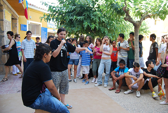 """The Councillor for Education attended the closing ceremony of the """"Expo Prado 2009"""" 8 months, 8 values """""""