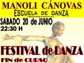 La Escuela de Danza Manoli Cánovas sorprenderá este sábado al público totanero con un show de Bollywood además de los estilos habituales.