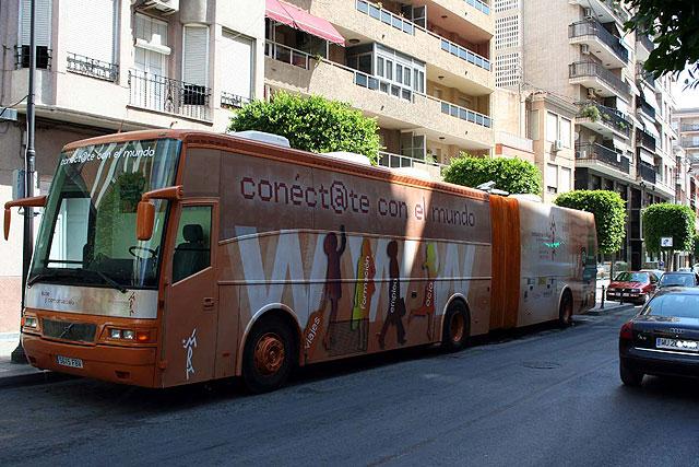 Esta semana estará en Alcantarilla el aula móvil que recorre los municipios de la Región - 1, Foto 1
