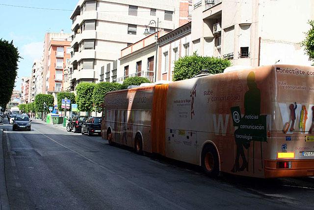 Esta semana estará en Alcantarilla el aula móvil que recorre los municipios de la Región - 2, Foto 2
