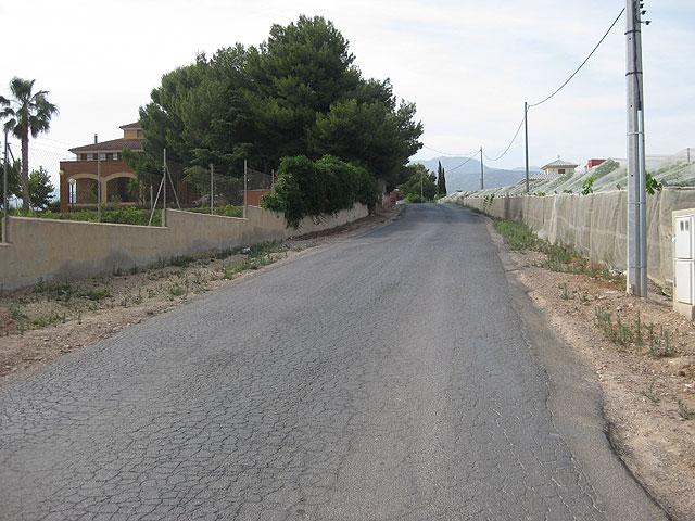 Se inician las obras de alumbrado público en el camino de los Yesares de la diputación de Mortí - 1, Foto 1