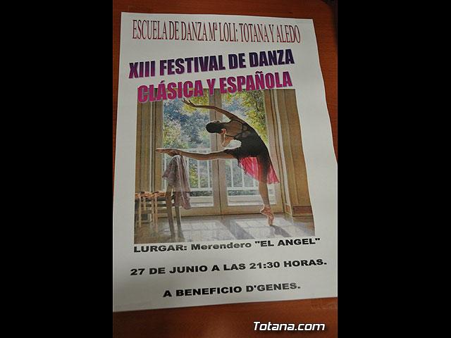 D´Genes presenta el ballet solidario y benéfico a cargo de la Escuela de Danza de Aledo y Totana Mari Loli - 5, Foto 5