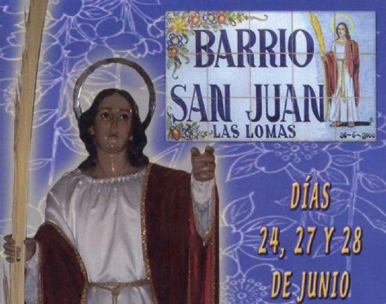 The program of holiday activities in the neighborhood of San Juan de El Paretón starts tomorrow Wednesday 24 June