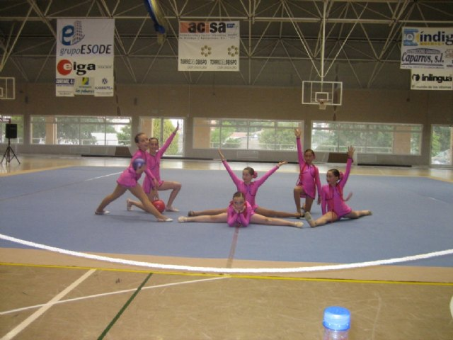 The students of the Municipal Sports School Gymnastics participated last weekend in the Competition Interschools