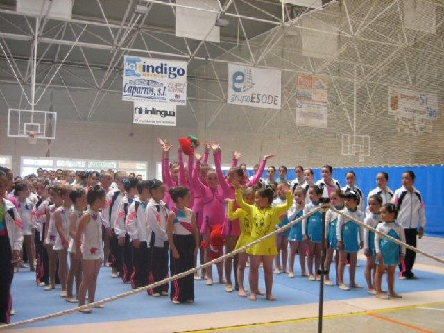 Las alumnas de la Escuela Deportiva Municipal de Gimnasia Rítmica participaron el pasado fin de semana en la Competición Interescuelas - 2, Foto 2