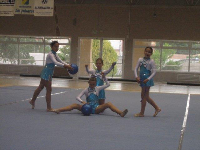 Las alumnas de la Escuela Deportiva Municipal de Gimnasia Rítmica participaron el pasado fin de semana en la Competición Interescuelas - 3, Foto 3
