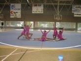Las alumnas de la Escuela Deportiva Municipal de Gimnasia Rítmica participaron el pasado fin de semana en la Competición Interescuelas