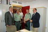 El delegado del Gobierno y el alcalde de Puerto Lumbreras visitan las obras de rehabilitación de la Casa-Cuartel de la Guardia Civil