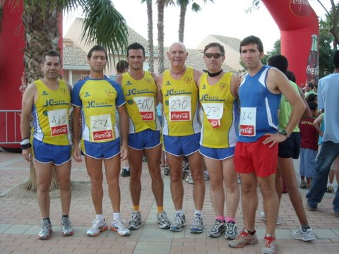 On Sunday ending IV Racetrack Totana Athletics Club