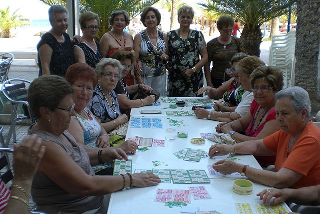 """It closed the season of activities and workshops held throughout the year by the Association of Amas de Casa """"The Three Marys"""""""