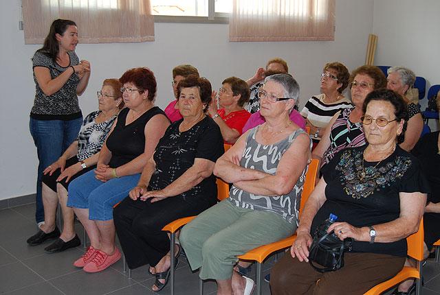 Los usuarios del centro de mayores de El Paretón reciben diplomas - 2, Foto 2