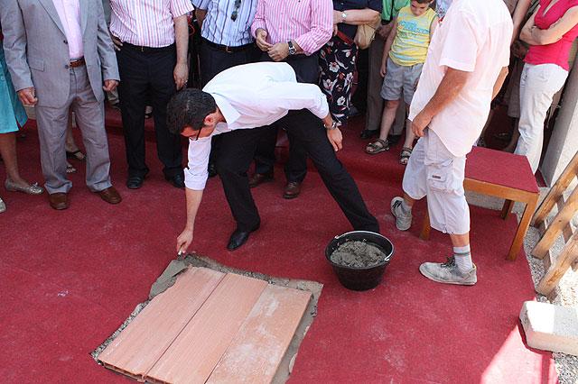 Colocada la primera piedra del Centro de Atención Temprana de Prometeo - 2, Foto 2