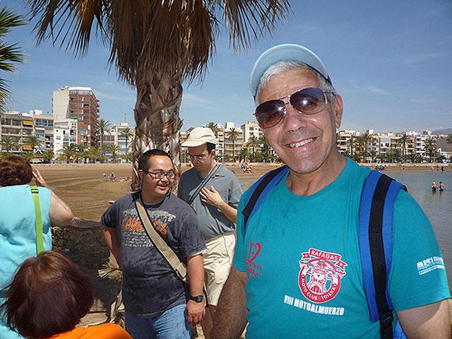 Occupational Center has organized several trips to Puerto de Mazarrón