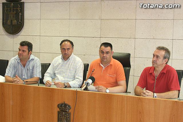 Los tres grupos políticos del consistorio totanero hacen frente común y firman un manifiesto en defensa del Trasvase Tajo-Segura - 1, Foto 1