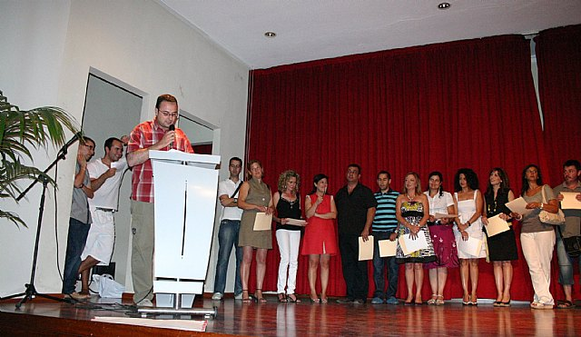 Closing the course of the Adult Education Center of Lower Guadalentín