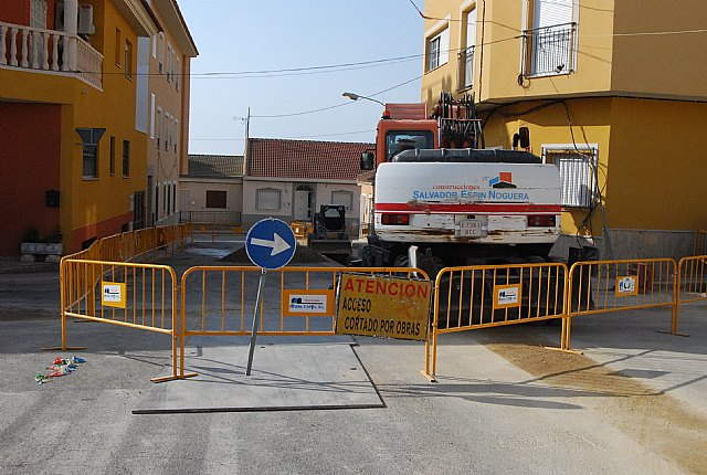 Begin improvement works on the sewerage network in the districts of the Era Alta, Olympic and Pears
