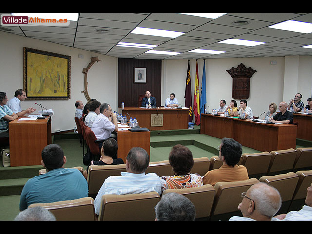 El Pleno de la corporación aprueba por unanimidad la creación de una comisión para consensuar el proyecto de remodelación del Jardín de los Patos, Foto 1