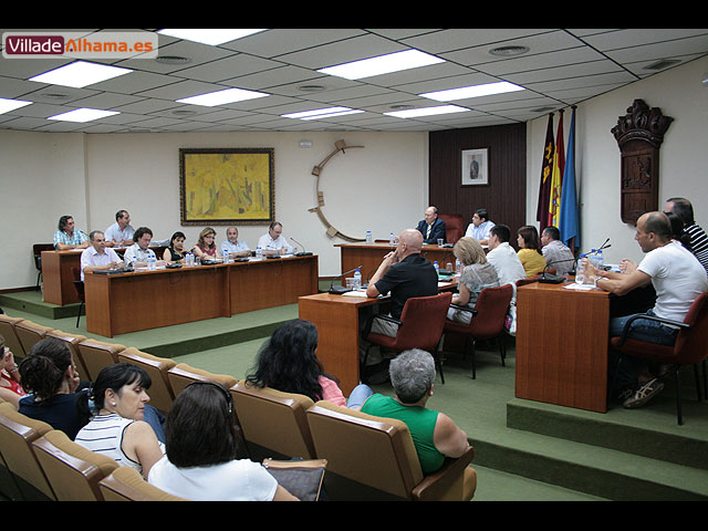 El Pleno de la corporación aprueba por unanimidad la creación de una comisión para consensuar el proyecto de remodelación del Jardín de los Patos, Foto 2