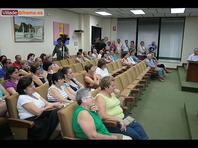 El Pleno de la corporación aprueba por unanimidad la creación de una comisión para consensuar el proyecto de remodelación del Jardín de los Patos, Foto 3