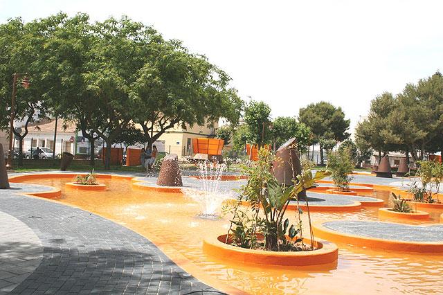 El director general de Vivienda y Arquitectura inaugura la remodelación del Parque Condesa Villar de Los Felices en San Pedro del Pinatar - 1, Foto 1