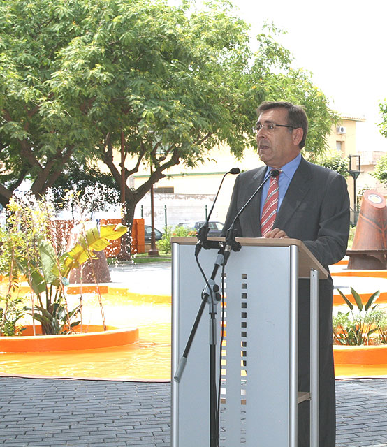 El director general de Vivienda y Arquitectura inaugura la remodelación del Parque Condesa Villar de Los Felices en San Pedro del Pinatar - 2, Foto 2