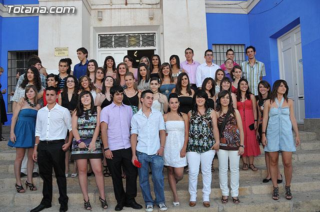 Graduation of students in 4 º of ESO Instituto Juan de la Cierva