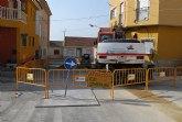 Comienzan las obras mejora en la red de saneamiento en los barrios de la Era Alta, Olímpico y las Peras