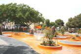 El director general de Vivienda y Arquitectura inaugura la remodelación del Parque Condesa Villar de Los Felices en San Pedro del Pinatar