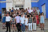 Graduación de los alumnos de 4º de la ESO  del Instituto Juan de la Cierva