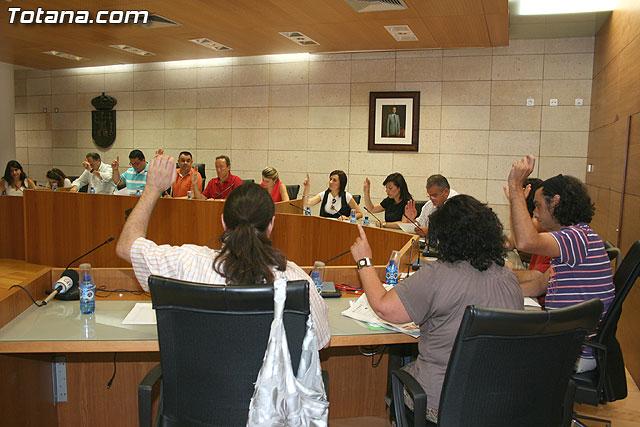 The Plenary Hall of Totana supports the rider Alejandro Valverde
