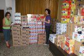 Puerto Lumbreras repartirá más de 5.500 kilos de alimentos a las familias más desfavorecidas