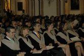 Los nuevos diplomados en Enfermería de la UCAM celebran su graduación