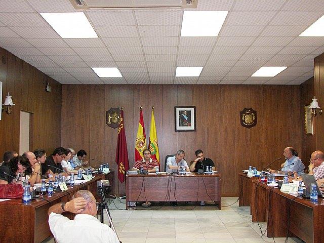 El pleno de Archena pide al Gobierno que active la necesidad de trasvasar agua del Ebro al Segura - 1, Foto 1