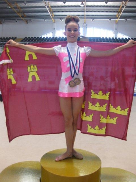 Una Gimnasta de Torre Pacheco se proclama campeona de España - 4, Foto 4